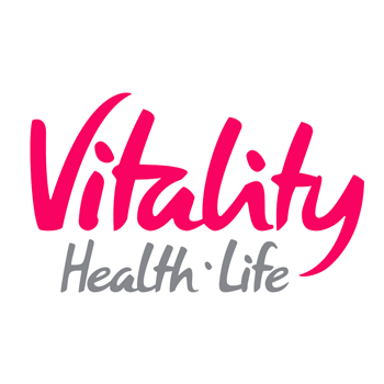 Vitality Health and Life Logo